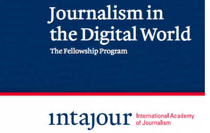 The Intajour Fellowship Program: Journalism in the Digital World